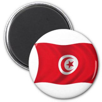 Flagga av Tunisien Magnet