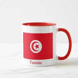Flagga av Tunisien Mugg