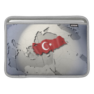 Flagga av Turkiet Sleeve För MacBook Air