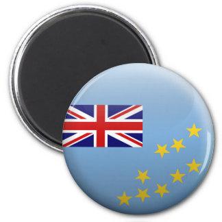 Flagga av Tuvalu Magnet