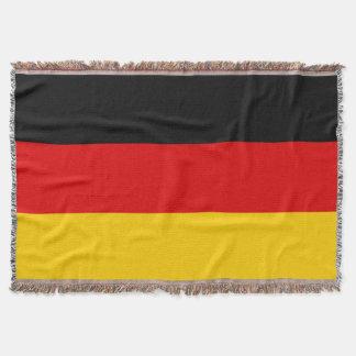 Flagga av Tysklandet eller Deutschland Filt