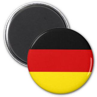 Flagga av Tysklandet Magnet Rund 5.7 Cm