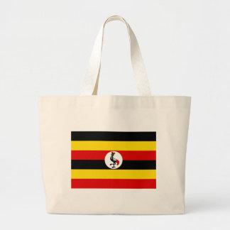 Flagga av Uganda Jumbo Tygkasse