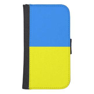 Flagga av Ukraina Plånboksfodral