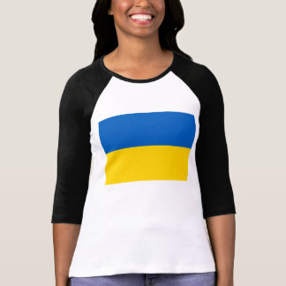 Flagga av Ukraina Tshirts