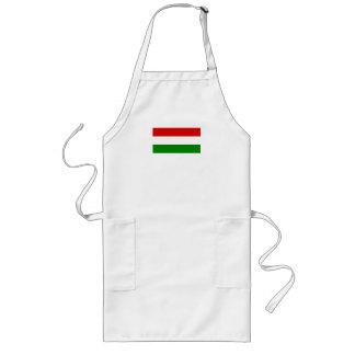 Flagga av Ungern Långt Förkläde