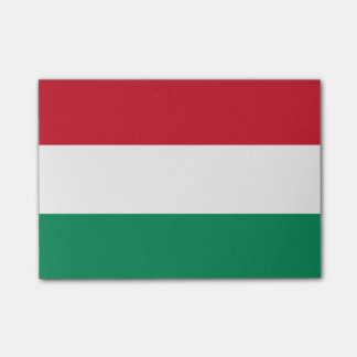 Flagga av Ungern Postar-it® noterar Post-it Lappar