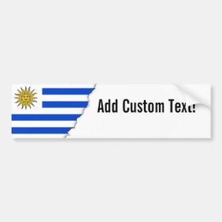 Flagga av Uruguay Bildekal