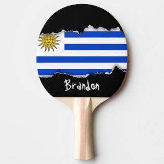 Flagga av Uruguay Pingisracket