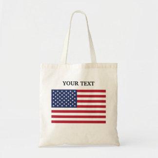Flagga av USA Budget Tygkasse