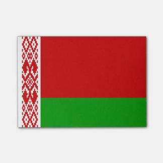 Flagga av Vitryssland Postar-it® noterar Post-it Lappar
