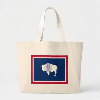 Flagga av Wyoming Jumbo Tygkasse
