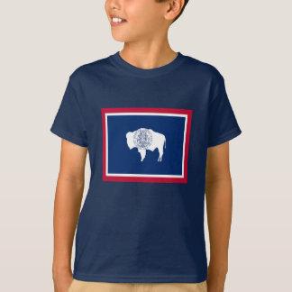 Flagga av Wyoming Tee Shirt
