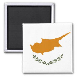 Flagga för Cypern medborgarevärld Magnet