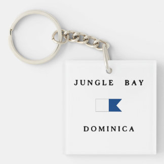 Flagga för dyk för alfabetisk för djungelfjärd