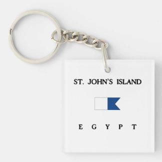 Flagga för dyk för alfabetisk för St Johns