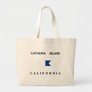 Flagga för dyk för Catalina öKalifornien Jumbo Tygkasse