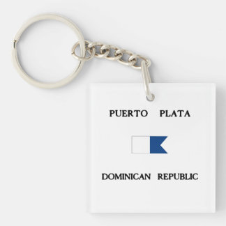 Flagga för dyk för Puerto Plata Dominikanska