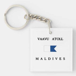 Flagga för dyk för Vaavu AtollMaldiverna
