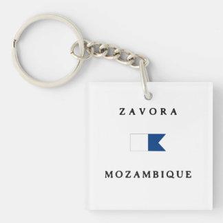 Flagga för dyk för Zavora Mocambique