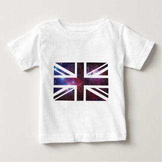 Flagga för facklig jack för galax brittisk (UK) Tee Shirt