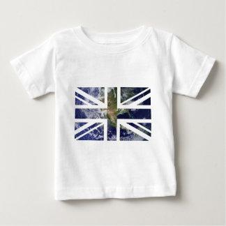 Flagga för facklig jack för jord brittisk (UK) T Shirt