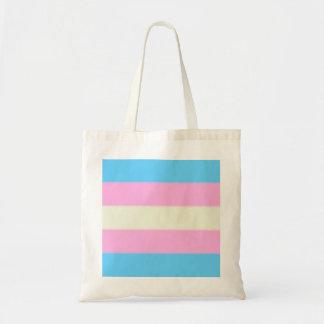 Flagga för Falln Transgenderpride Budget Tygkasse