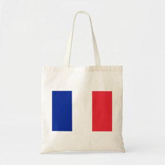 Flagga för frankrikemedborgarevärld budget tygkasse