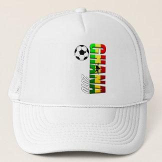 Flagga för Ghana vertikal fotbolllogotyp av Ghana Keps