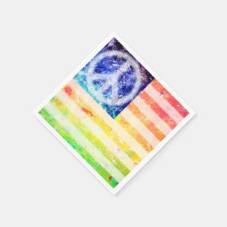 Flagga för Hippiefredfreak Pappersservetter
