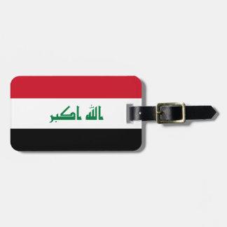 Flagga för Irak medborgarevärld Bagagebricka