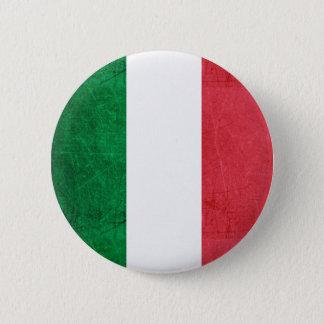 Flagga för italien knäppas standard knapp rund 5.7 cm