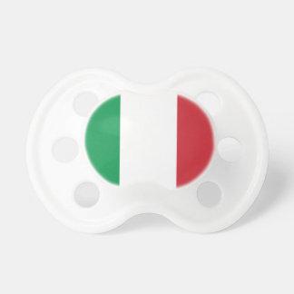 Flagga för italienmedborgarevärld napp