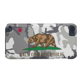 Flagga för kamouflage för Kalifornien republik sta iPod Touch 5G Fodral