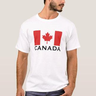 Flagga för Kanada kanadensisk medborgarevärld T Shirt