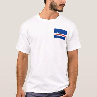 Flagga för Kap Verde medborgarevärld Tee