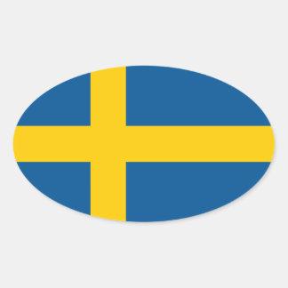 Flagga för klistermärke | för bil för svenskflagga