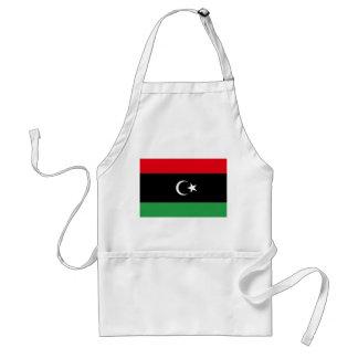 Flagga för Libyen medborgarevärld Förkläde