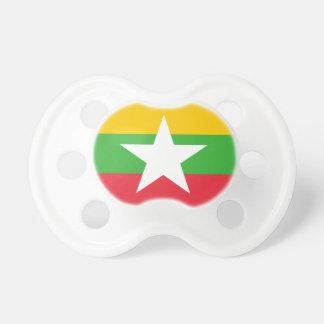 Flagga för Myanmar medborgarevärld Napp