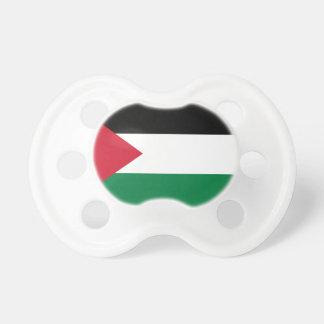 Flagga för Palestina medborgarevärld Napp