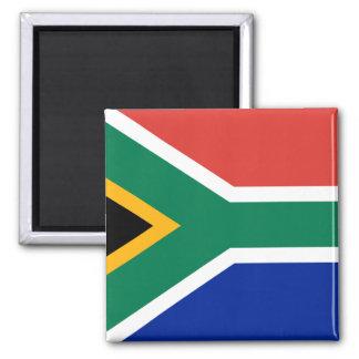 Flagga för Sydafrika medborgarevärld Magnet