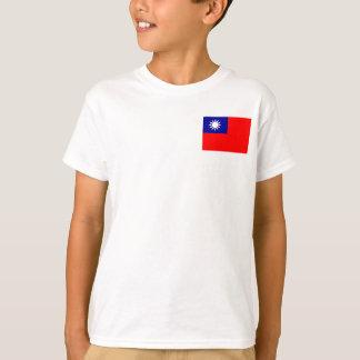 Flagga för Taiwan medborgarevärld T Shirts