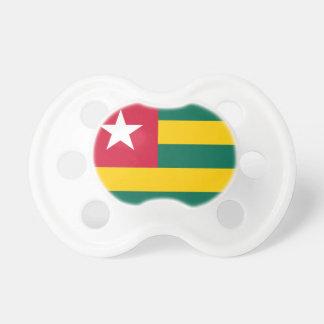 Flagga för Togo medborgarevärld Napp