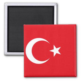 Flagga för Turkiet medborgarevärld Magnet