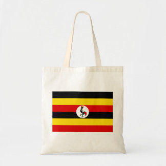 Flagga för Uganda medborgarevärld Tygkasse