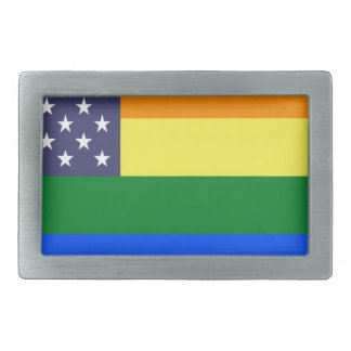 Flagga för US-regnbågepride