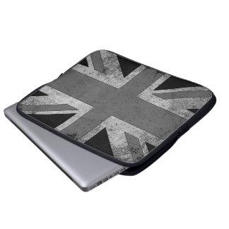 Flagga för vintageGrungeUK Laptop Fodral