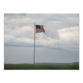 Flagga Fototryck