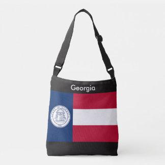 Flagga hänger lös, Georgia Axelväska