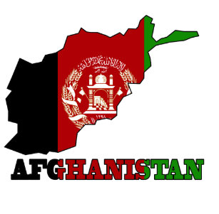 Flagga i karta av Afghanistan iPhone 4 Skal b98f79ad576d1